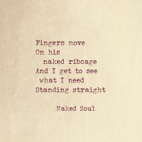 Erotic Poem from the book Naked Soul Erotic Love Poems