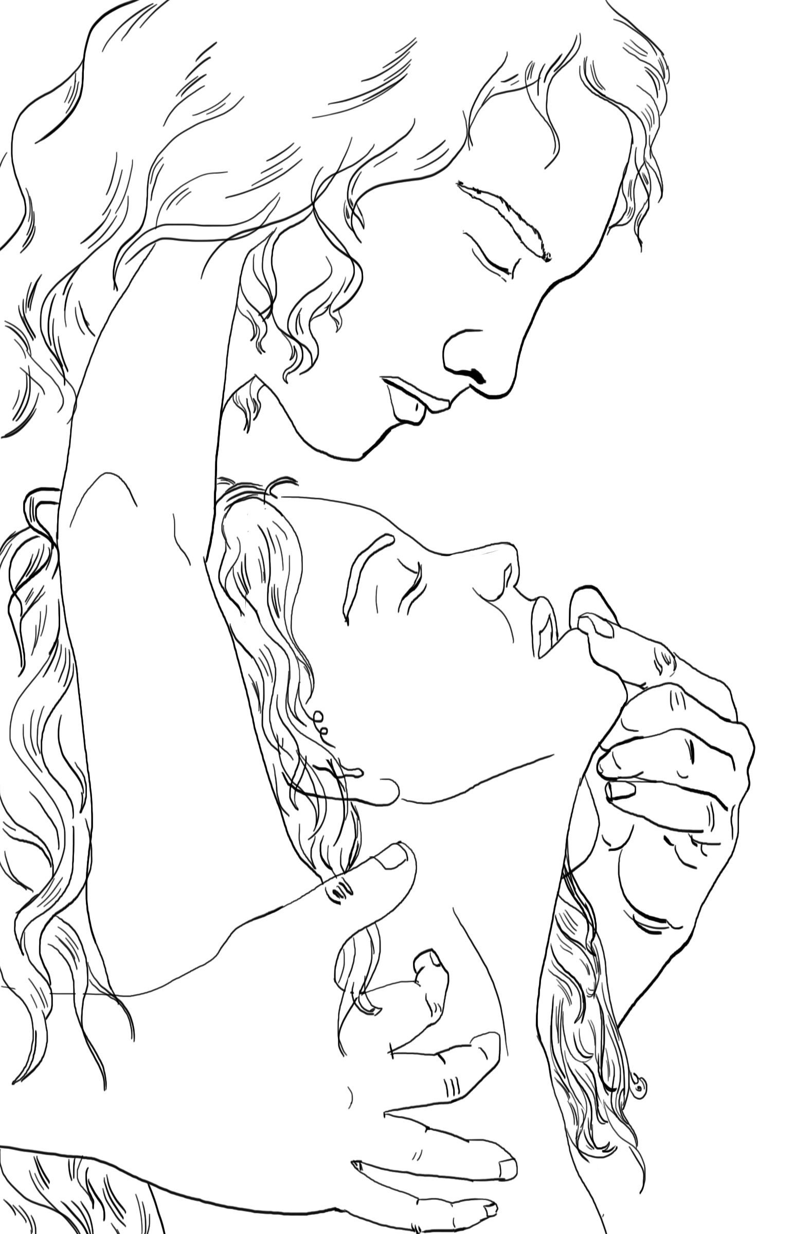 Romantic Wedding Vows_Illustration from Naked Soul Erotic Love Poems