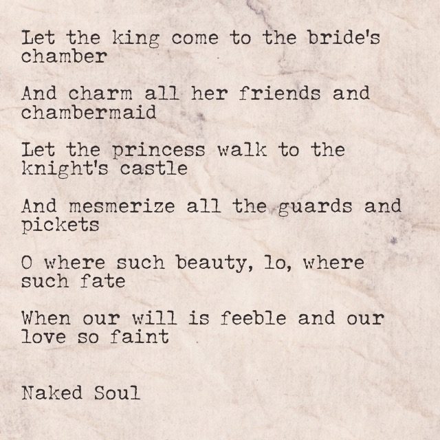 our love from naked soul poem book