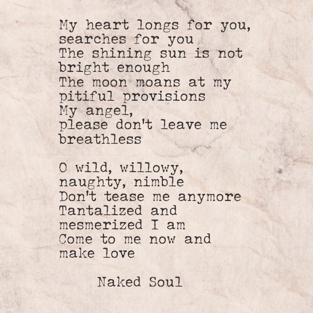 my heart longs for you