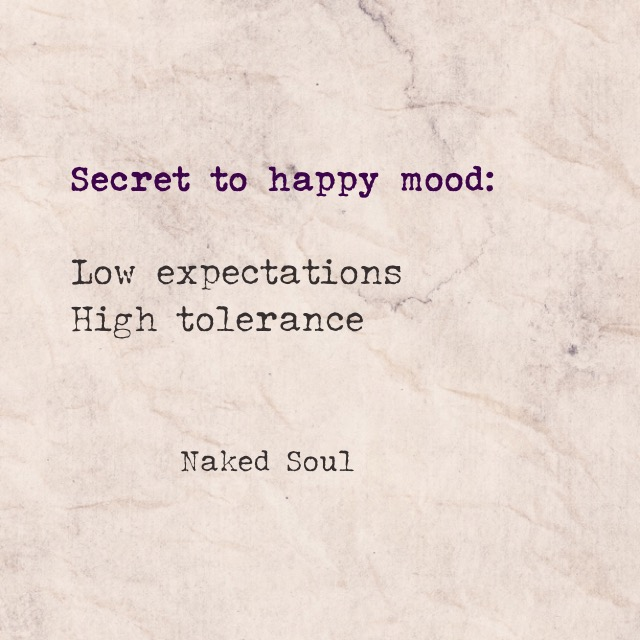 secret to happy mood