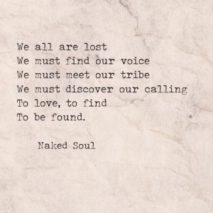 love is our way naked soul poetry