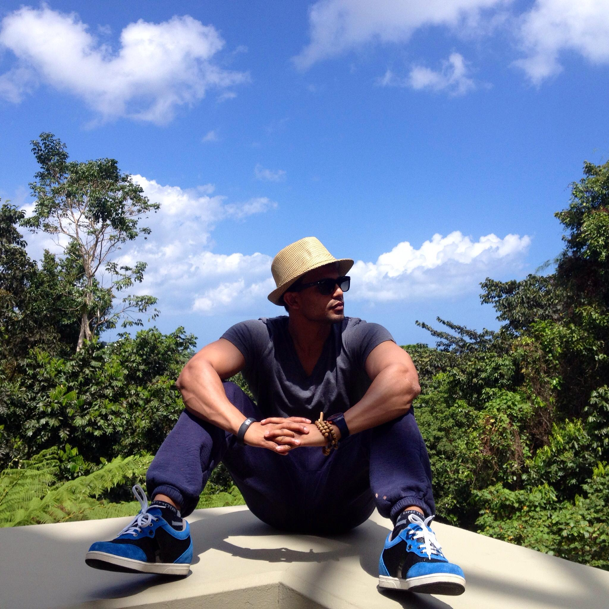 reflection and deep thought blogger salil jha in puerto rico
