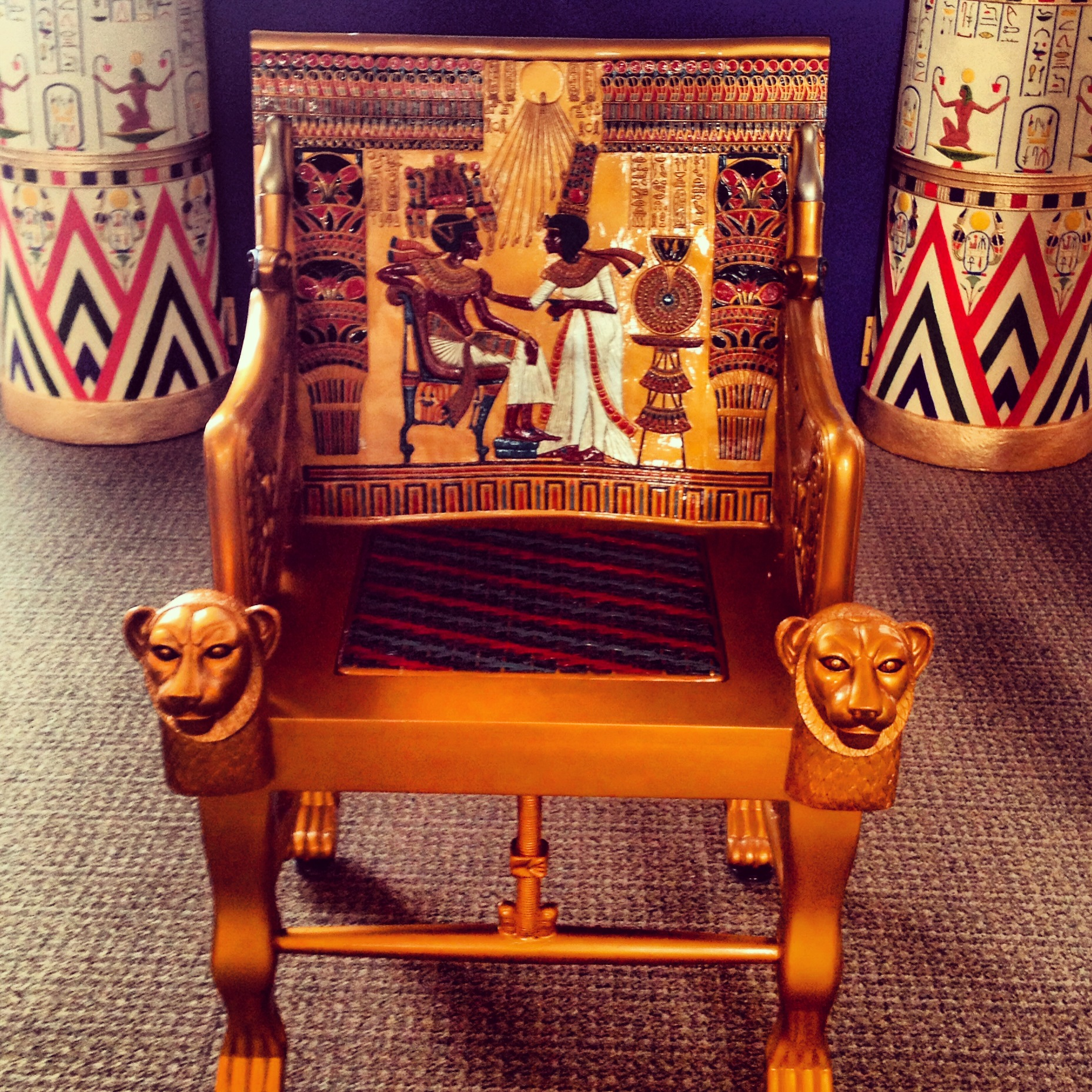 kingly king's chair