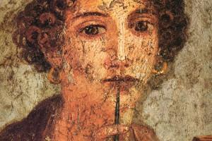 Pompei Poet Sappho Headshot
