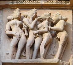 khajuraho temple sex art