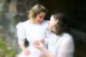 Lesbian Couple Romantic