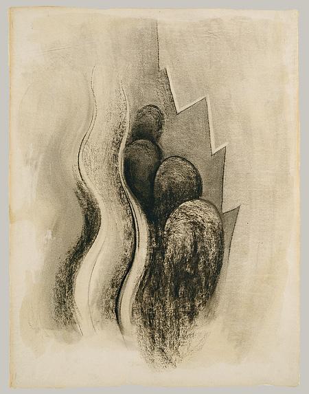Georgia O Keeffe ca. 1915