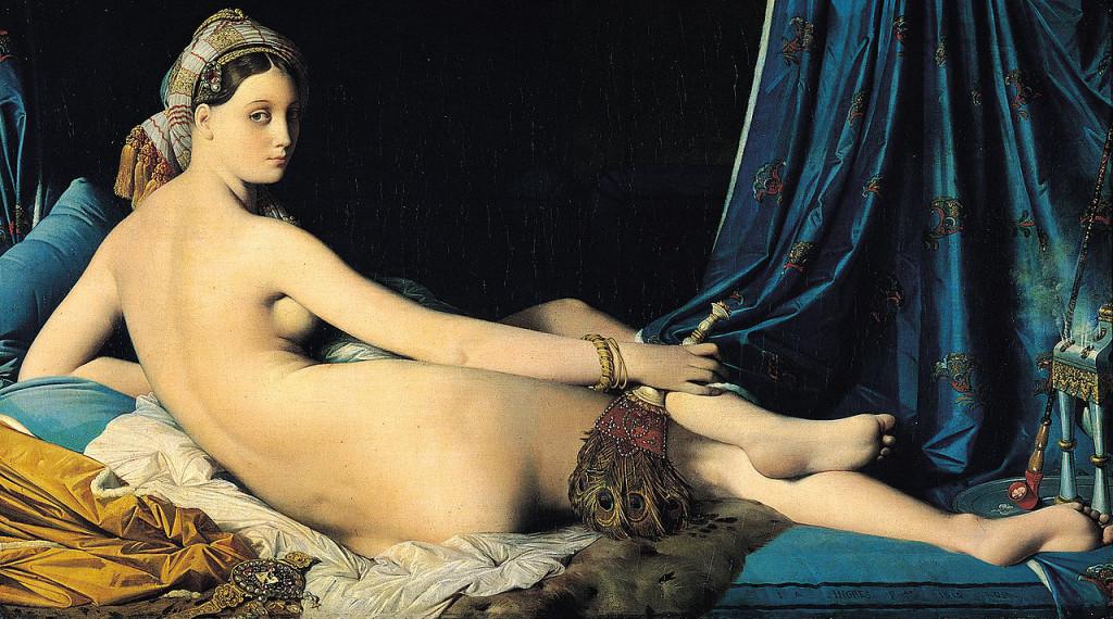 Jean-Auguste-Dominique-Ingres La-Grande-Odalisque-1814