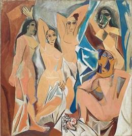 Picasso's Les Demoiselles