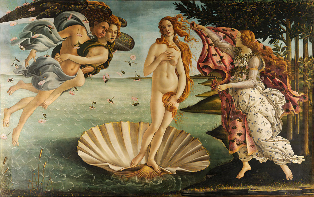 Sandro_Botticelli_-_La_nascita_di_Venere_-The Birth of Venus