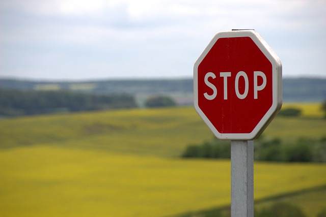 stop-sign stop blogging