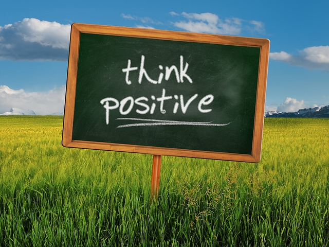 think positive and live day by day