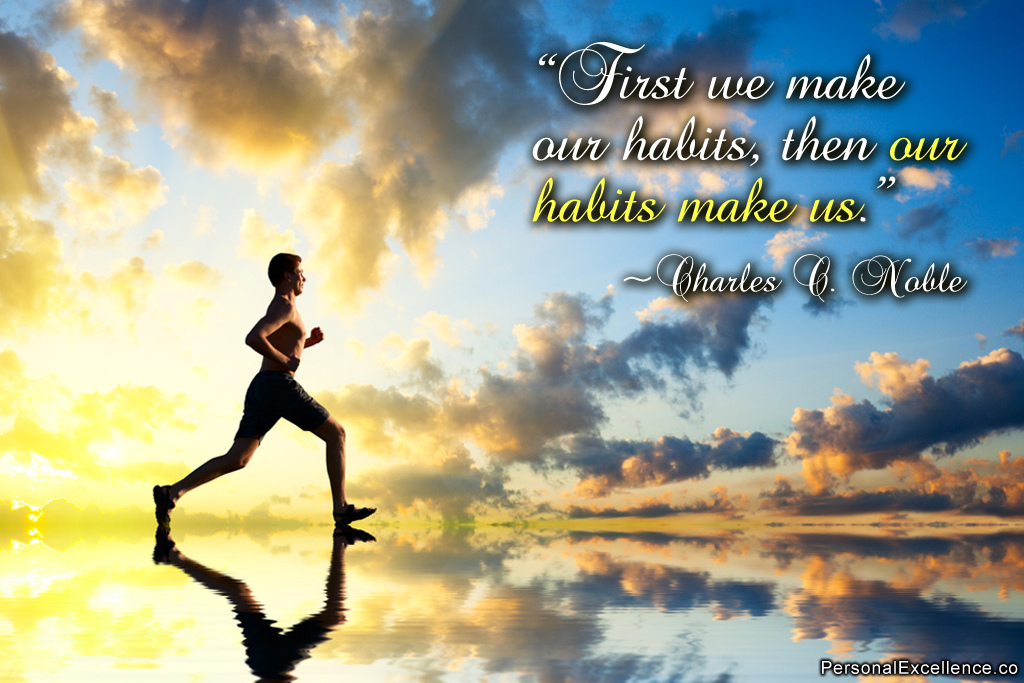 How To Grow As A Person? Habits make us who we are