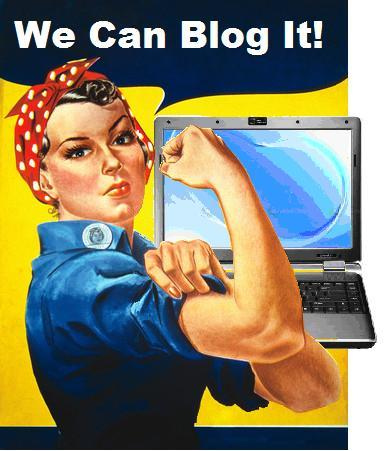 you can blog it, yes blog it 4.0 style