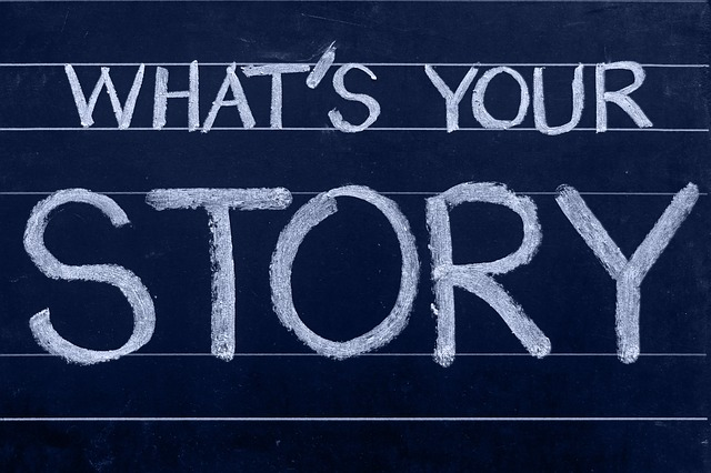 what's your story - blog about it