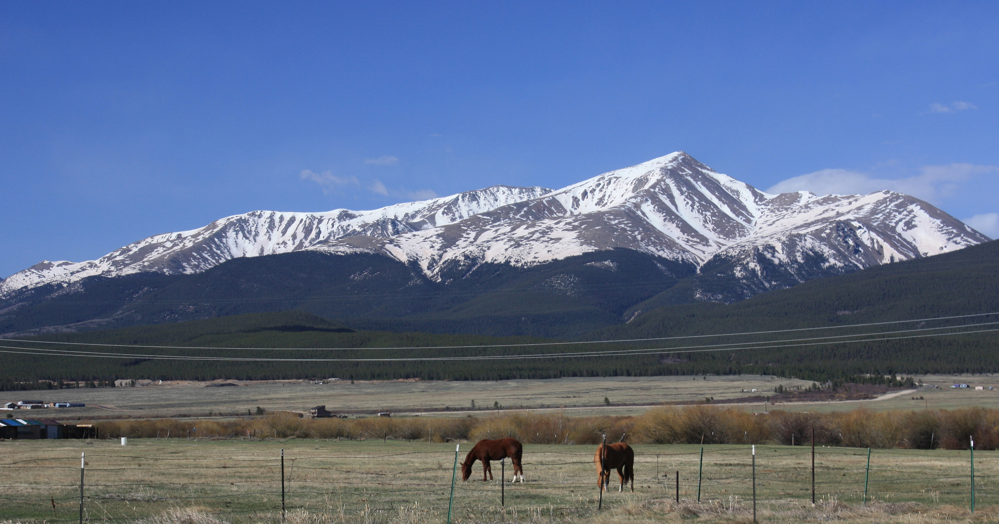 Mount_Elbert_ the tallest in Colorado and Rocky Mountains