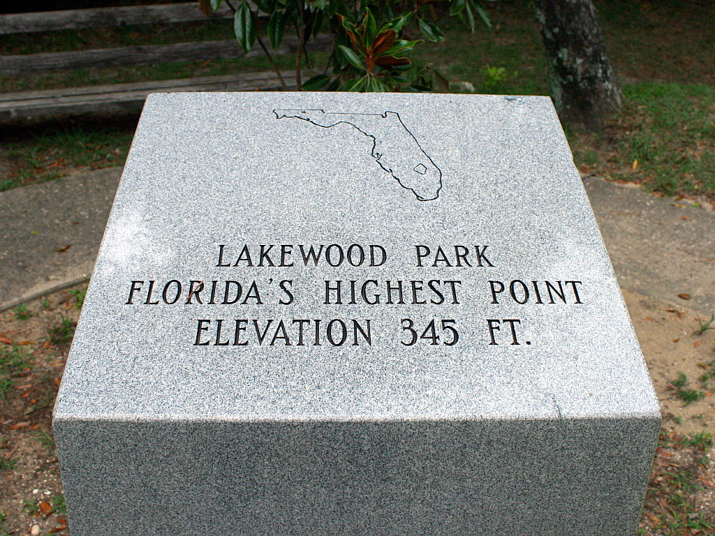 britton hill florida-highest-peak-point