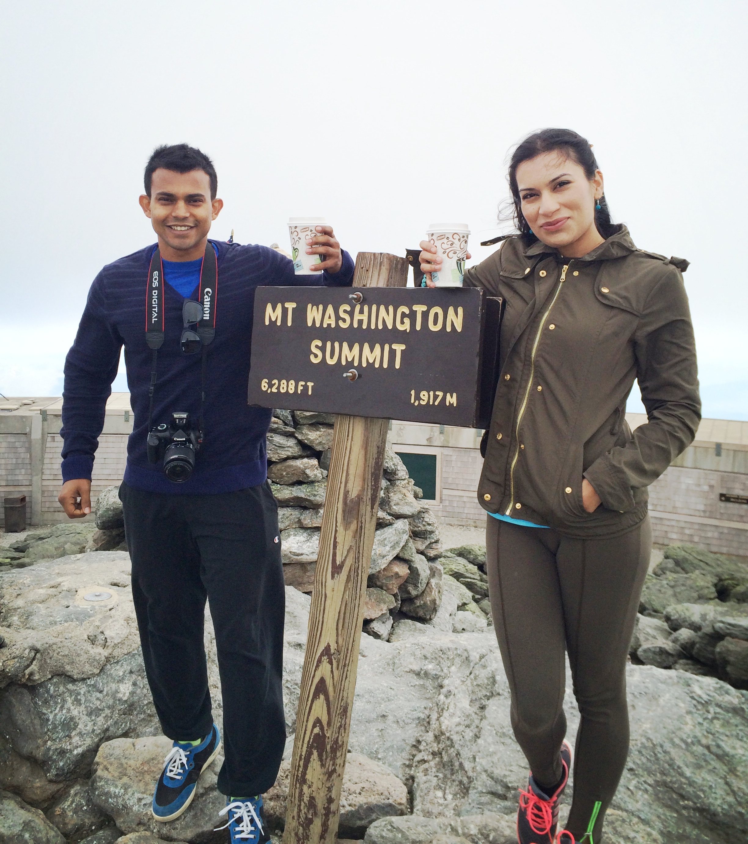 A International Couple Climbing All 50 US State Highpoints. Peakbagging, highpointing and top highpointer couples