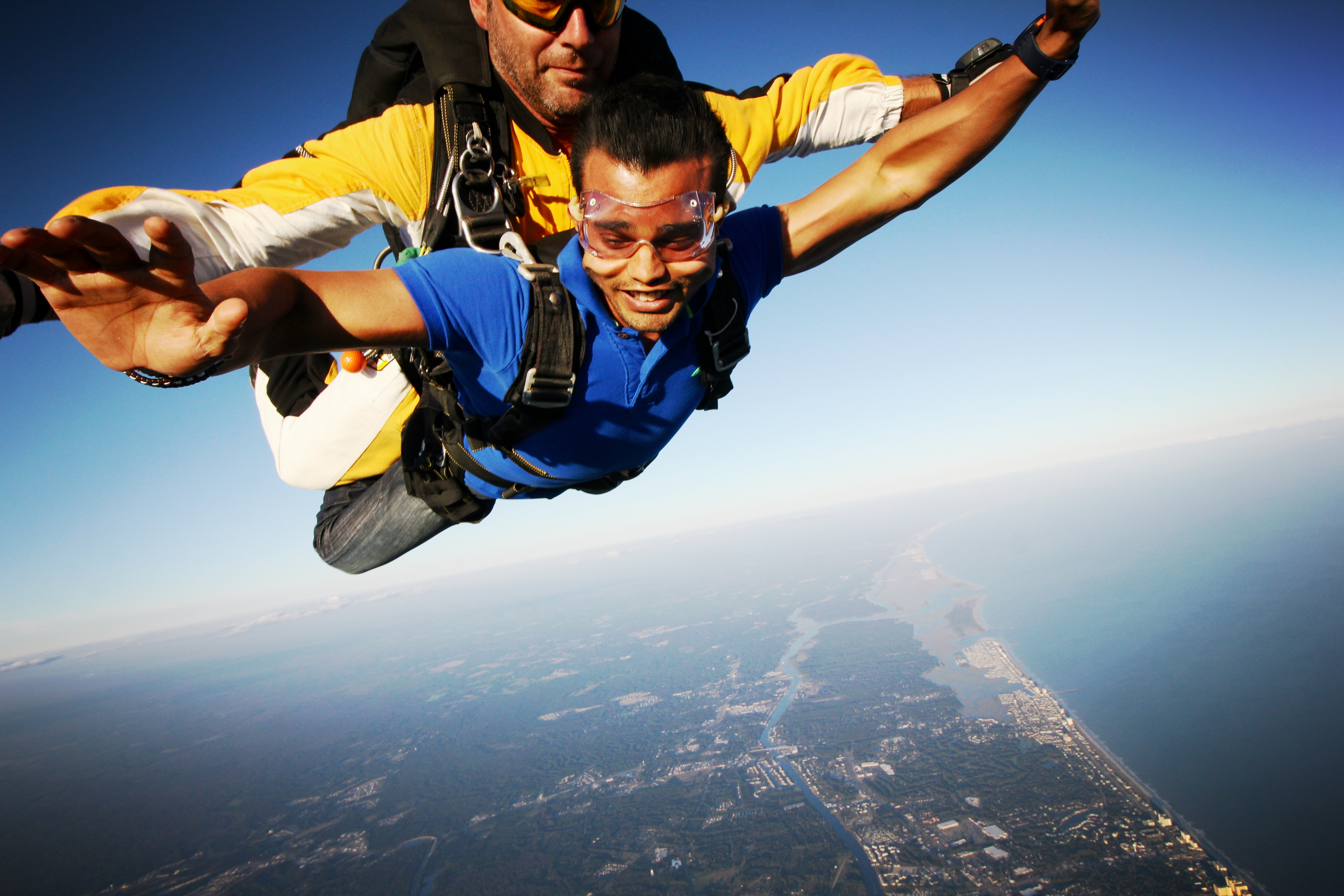 I so loved skydiving and I am doing it again.
