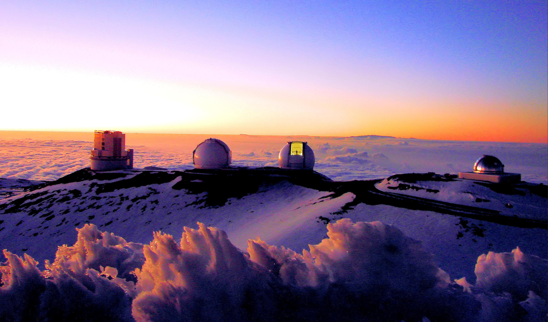 Mauna-Kea-observatories