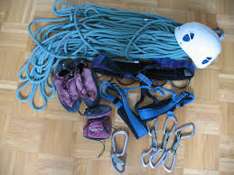 fixed ropes and other climbing gears