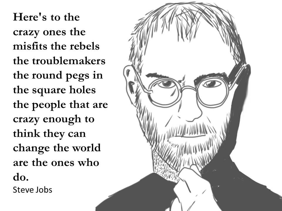 steve jobs quote on success