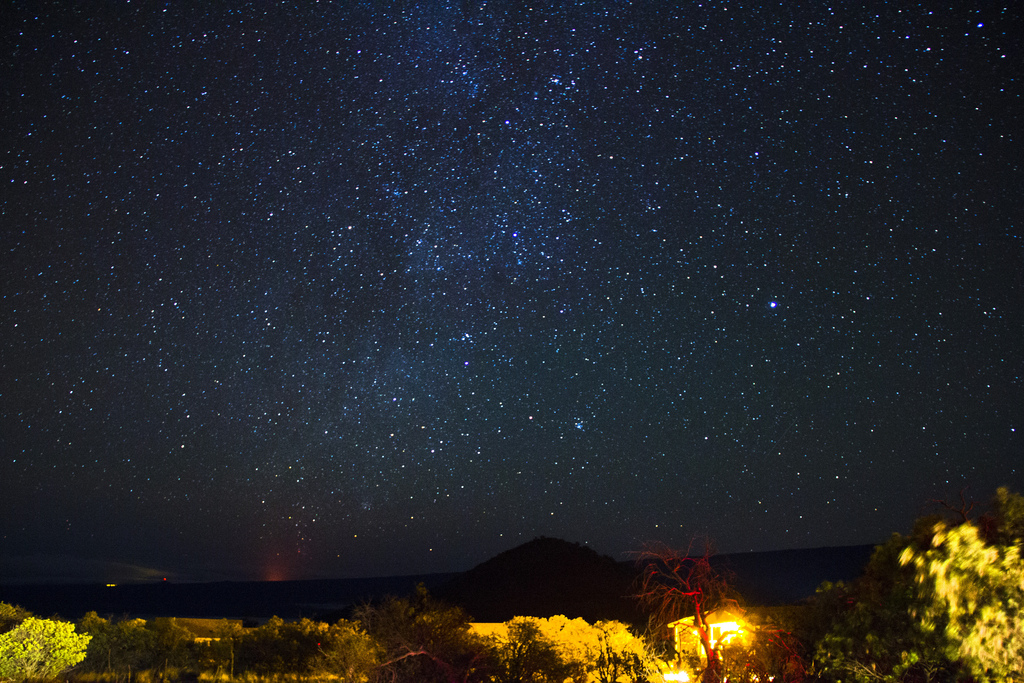 the-stars-night view-Mt-Kea