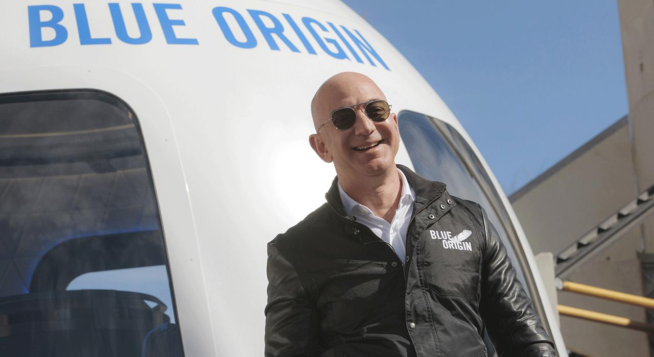 Jeff Bezos Blue Origin to Take Tourists to Space