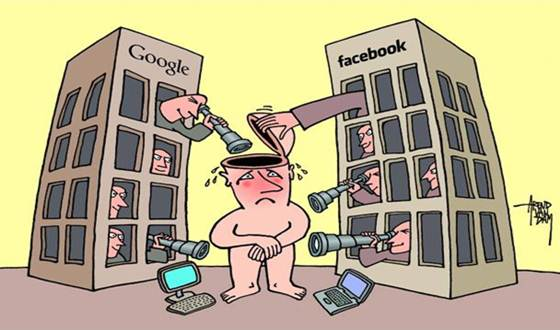 There will be no privacy in the future by 2050. No personal privacy, no internet privacy.
