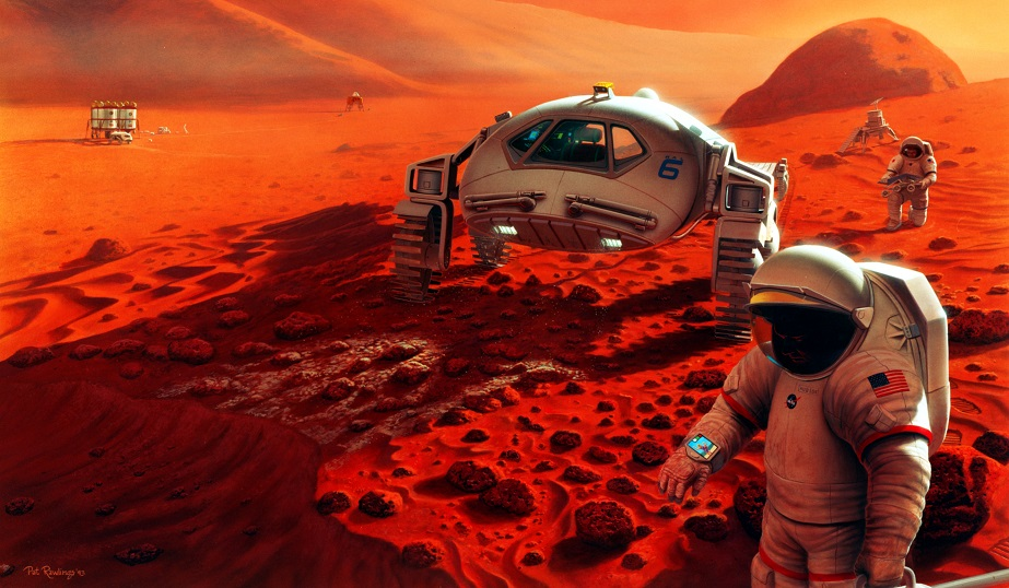 Humans_on_Mars elon musk spaceX