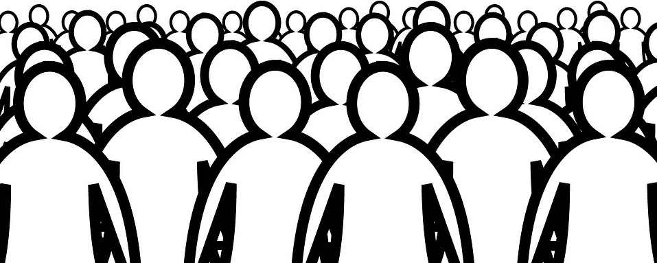 human crowd labor force work force as commodity