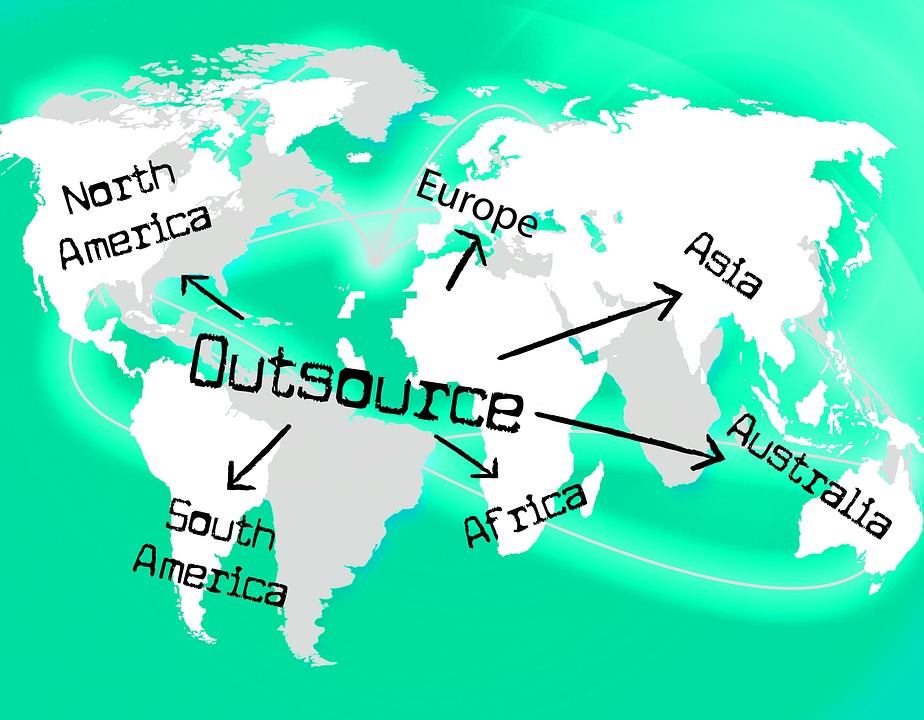 outsourcing is the flattening of global resources