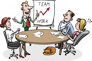 Cog vs Clog. How to build a healthy company culture_team work_meeting_PD